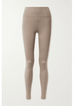 Girlfriend Collective - Compressive Recycled Stretch Leggings - Mushroom