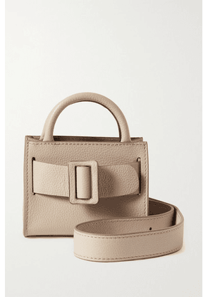 BOYY - Bobby Surreal Mini Buckled Textured-leather Tote - Beige