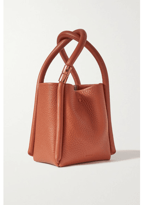 BOYY - Lotus 12 Textured-leather Tote - Brown