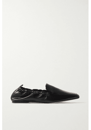 Porte & Paire - Leather Loafers - Black
