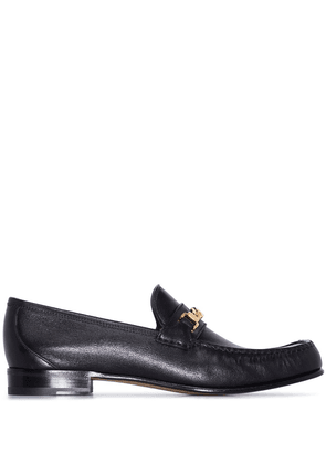 Gucci Logan chain-link loafers - Black