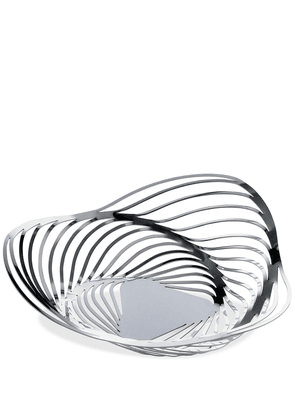 Alessi Trinity stainless steel basket - Silver