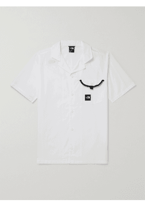 THE NORTH FACE - Camp-Collar Contrast-Tipped Cotton Shirt - Men - White - S