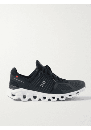 ON - Cloudswift Rubber-Trimmed Mesh Running Sneakers - Men - Black - 9.5