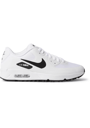 NIKE GOLF - Air Max 90 G Coated-Mesh Golf Shoes - Men - White - US 8.5
