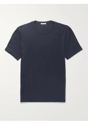 JAMES PERSE - Combed Cotton-Jersey T-Shirt - Men - Blue - 4