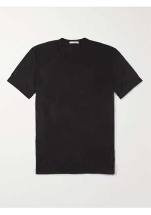 JAMES PERSE - Combed Cotton-Jersey T-Shirt - Men - Black - 2