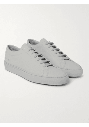 COMMON PROJECTS - Original Achilles Leather Sneakers - Men - Gray - 41