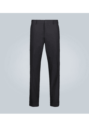 Cotton tapered pants