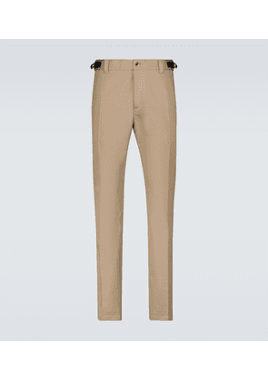 Meander belted accent pants