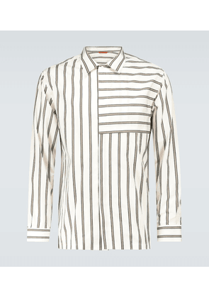 Bufalcana Tomi striped shirt