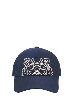 Tiger Embroidered Techno Canvas Hat