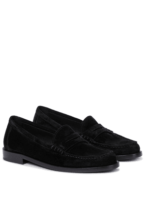 Le Loafer suede loafers