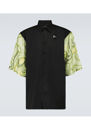 Printed short-sleeved shirt