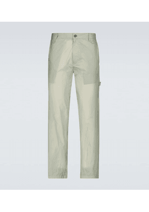 5 MONCLER CRAIG CREEN nylon chino pants