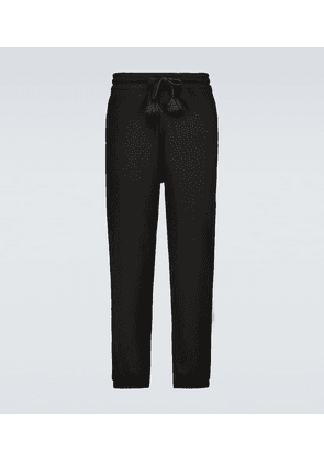 5 MONCLER CRAIG GREEN cotton sweatpants