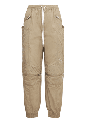 Oversize Tech Nylon Track Pants