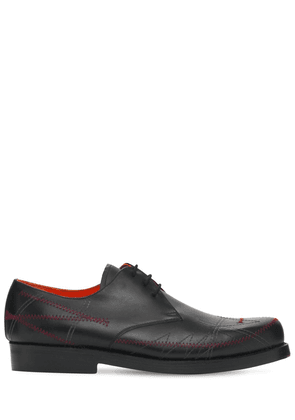 Heinrich Dinkelacker Leather Derby Shoes