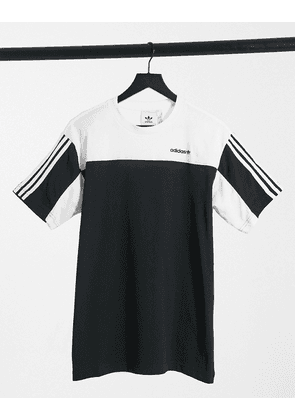 adidas Originals short sleeve t-shirt in black and white