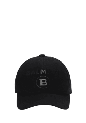 Logo Foil Cotton Canvas Cap