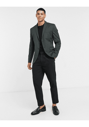 Selected Homme suit jacket slim fit green