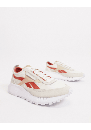 Reebok Classic Legacy trainers in off white