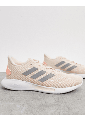 adidas Running Galaxar trainers in pink
