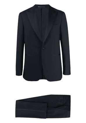 Canali single-breasted two-piece suit - Blue