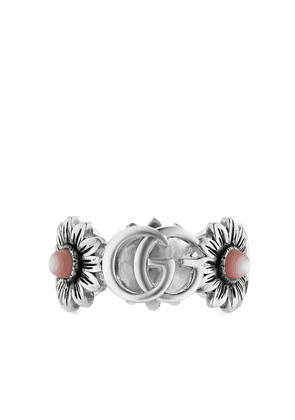 Gucci Double G flower ring - Silver