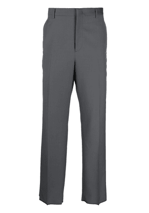 Valentino side-stripe tailored trousers - Grey