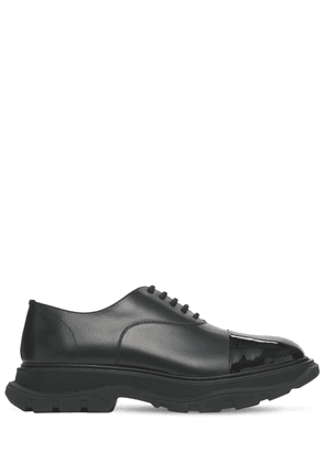 Hybrid Leather Lace-up Shoes