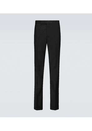 Wool suiting pants