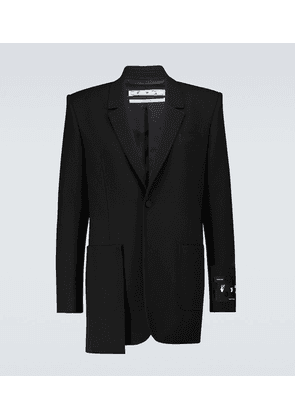 Excess single-breasted blazer