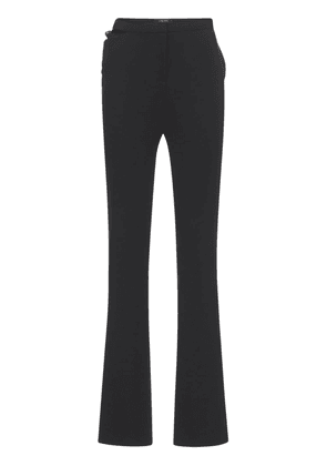 Stretch Cady Flared Pants