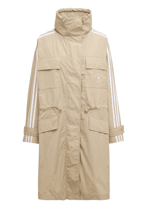 Oversize Cotton & Tech Trench Coat