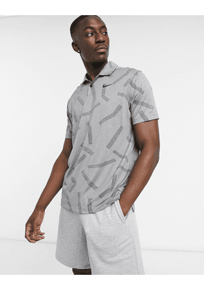 Nike Golf Victory Dri-FIT polo in light blue-Grey