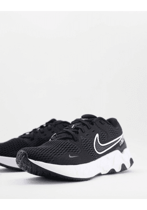Nike Running Renew Ride 2 trainers in black