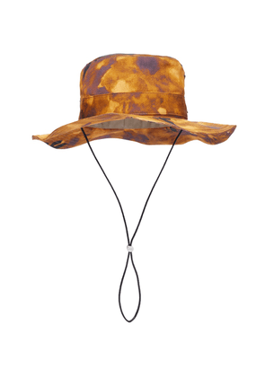 Paula's Ibiza tie-dye canvas bucket hat