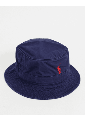 Polo Ralph Lauren loft bucket hat in navy