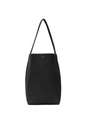 The Row Black Leather Park Tote
