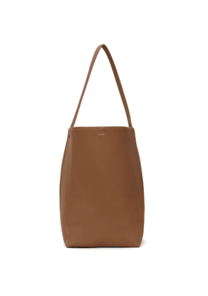 The Row Brown Leather Park Tote