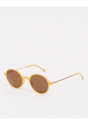 AJ Morgan round sunglasses in orange