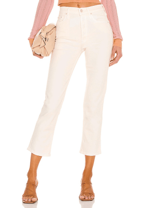 MOTHER The Tomcat in Cream. Size 32.