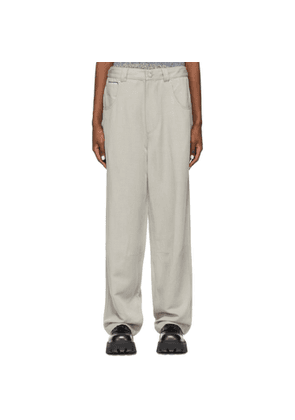 Eytys Taupe Lyocell Titan Jeans