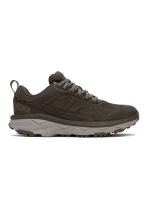 Hoka One One Brown Gore-Tex Challenger Low Sneakers