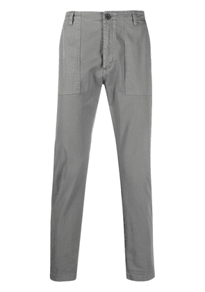 Department 5 high-rise cropped trousers - Grey