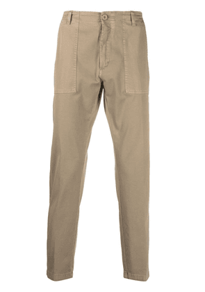 Department 5 high-rise cropped trousers - Neutrals