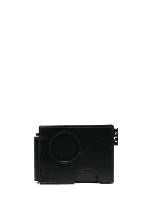 Off-White cut-out compact cardholder - Black