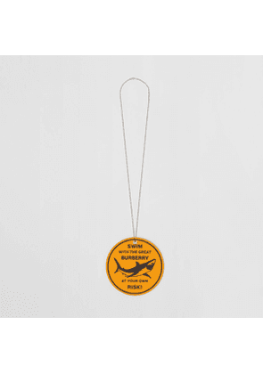 Burberry Rubber Shark Graphic Necklace