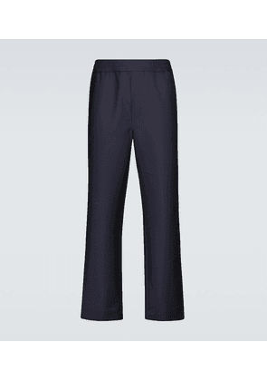 Pismo wool-blend drawstring pants
